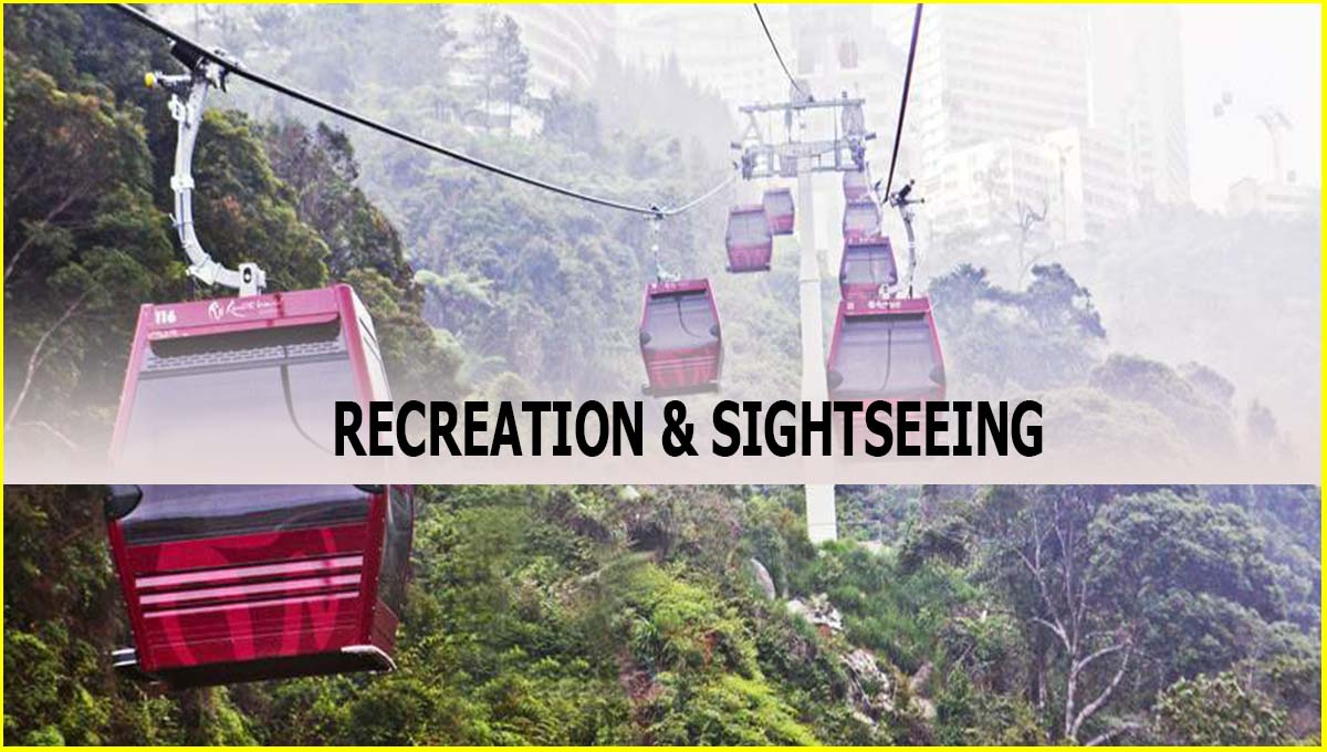 Malaysia Genting Highlands iconic cable car
