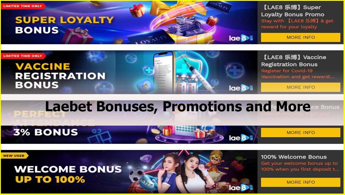 Laebet Bonuses, Promotions and More Malaysia